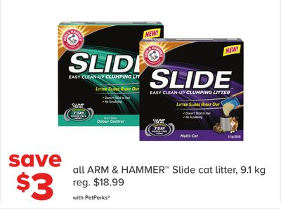 All Arm & Hammer Slide Cat Litter