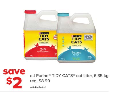 All Purina Tidy Cats Cat Litter