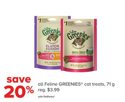 All Feline Greenies Cat Treats