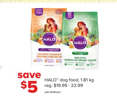 Halo Dog Food