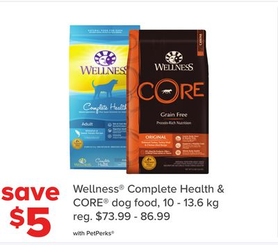 Wellness Complete Health & Core Dog Food