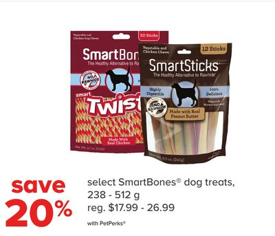 Smartbones Dog Treats