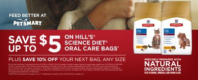 On Hill's Science Diet Oral Care Bags
