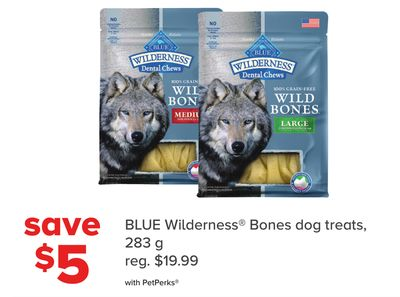 Blue Wilderness Bones Dog Treats