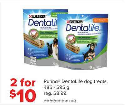 Purina Dentalife Dog Treats