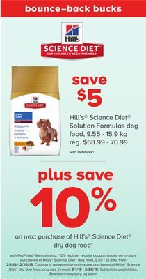 Hill's Science Diet Solution Formulas Dog Food