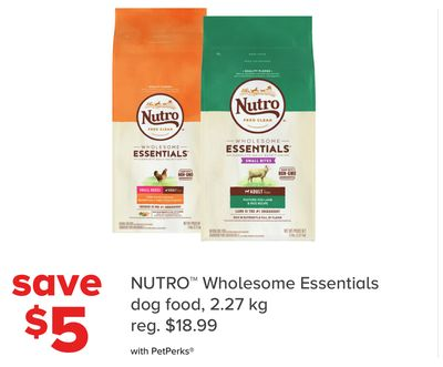 Nutro Wholesome Essentials Dog Food