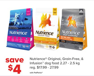 Nutrience Original - Grain-free - & Infusion Dog Food