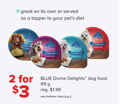 Blue Divine Delights Dog Food