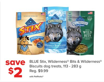 Blue Stix - Wilderness Bits & Wilderness Biscuits Dog Treats