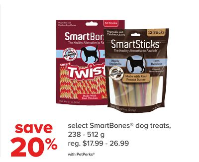 Select Smartbones Dog Treats
