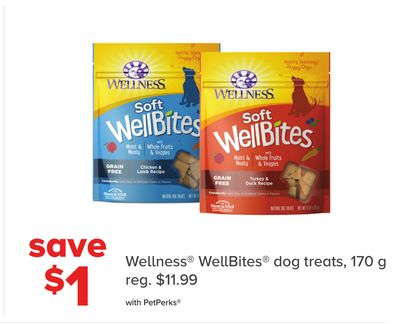 Wellness Wellbites Dog Treats