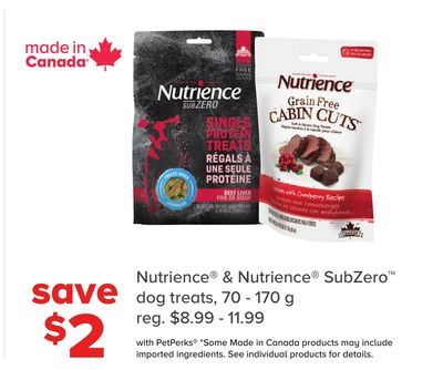 Nutrience & Nutrience Subzero Dog Treats