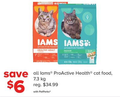 All Iams Proactive Health Cat Food