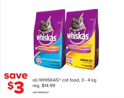 All Whiskas Cat Food