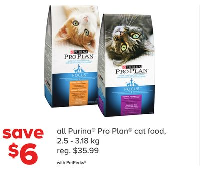 All Purina Pro Plan Cat Food