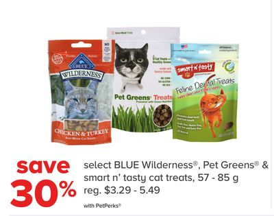 Blue Wilderness - Pet Greens & Smart N' Tasty Cat Treats