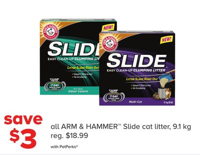 Arm & Hammer Slide Cat Litter