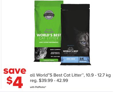 All World''s Best Cat Litter