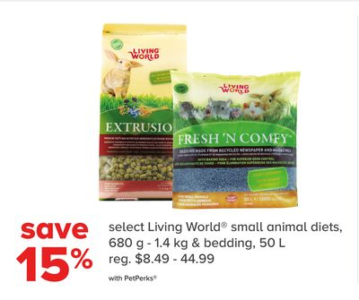 Select Living World Small Animal Diets